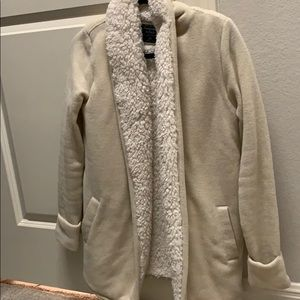 Abercrombie Sherpa cardigan
